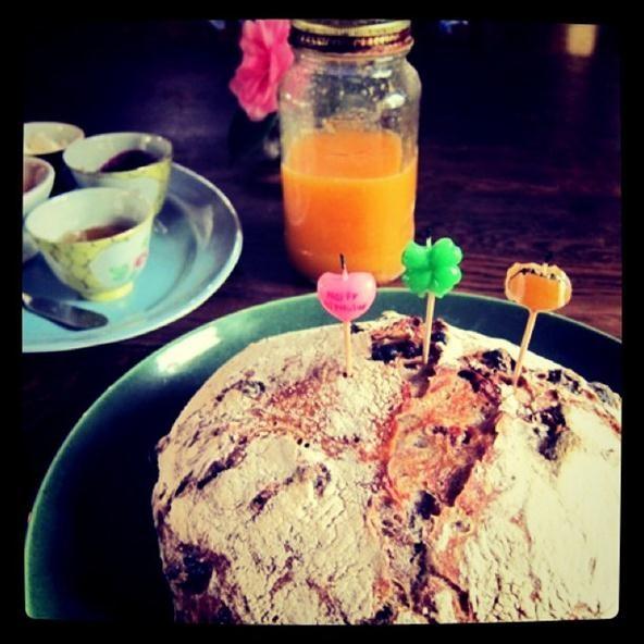 Food Photography Challenge: Birthday Bread