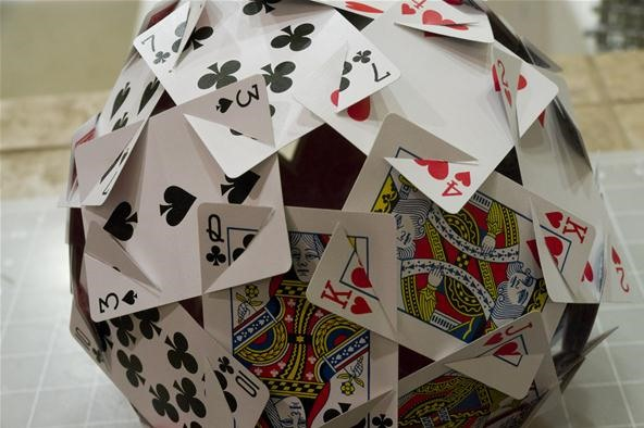 How to Make the Platonic Solids Out of Playing Cards