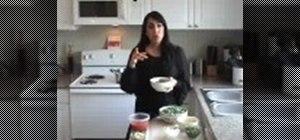 Cook Mediterranean lubya green bean stew