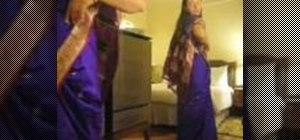 Put on a sari