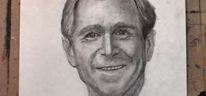 "Draw George ""Dubya"" Bush realistically step-by-step"