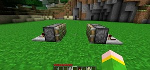 Make a trap door with pistons in Minecraft