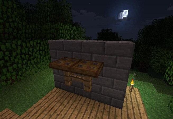 Minecraft Outside Furniture Furniture in Minecraft