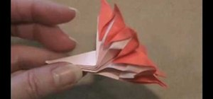 How To Make An 8 Petal Flower From Folded Paper With Origami