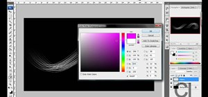 Make colorful glowing neon lines in Photoshop