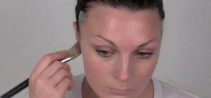 Create a drag queen/showgirl makeup look