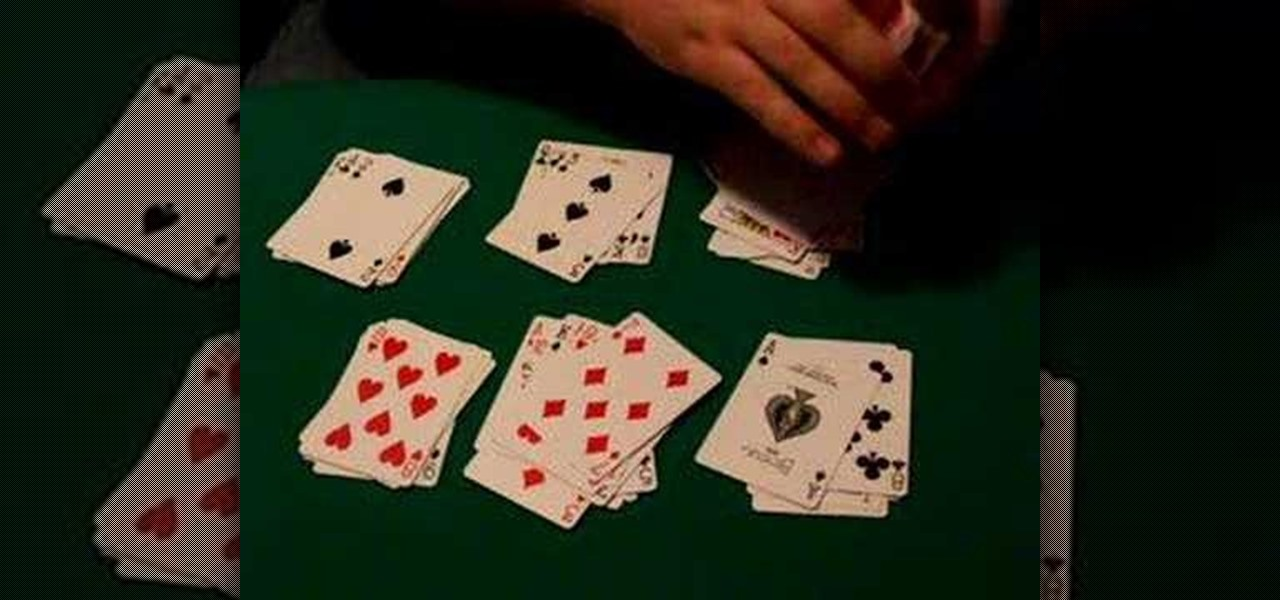 Trick Of 13 Card With Piles