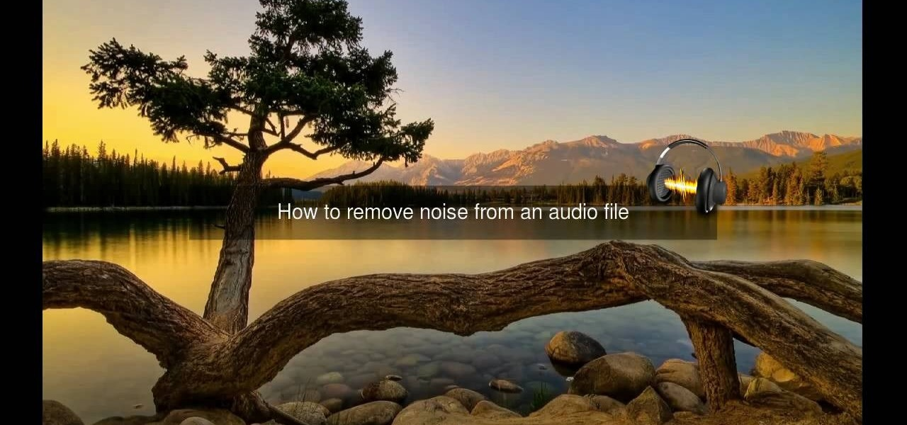 How to Remove noise from audio files in Ubuntu with Audacity