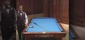 Sink three pool balls in one shot