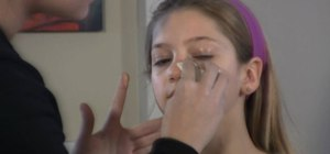 Exagerate your makeup for stage performances
