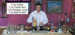 Make a creamsicle martini