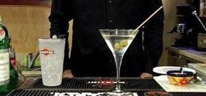 Make a cocktail martini
