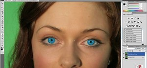 Modify eye color with Adobe Photoshop CS4