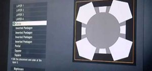 Create a Portal Companion Cube playercard emblem in Call of Duty: Black Ops