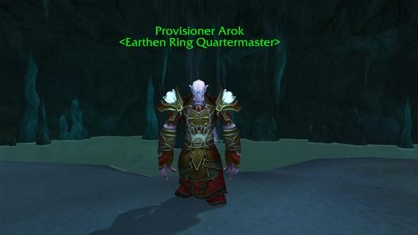 How to Find The Earthen Ring Quartermaster in World of WarCraft: Cataclysm