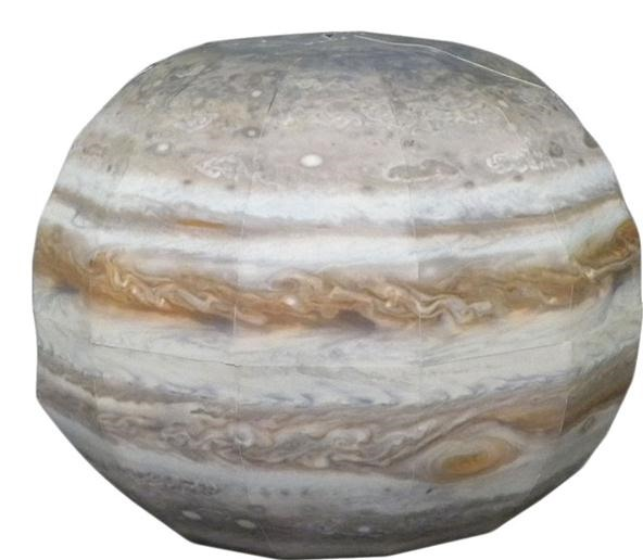 DIY Papercraft Models of the Planets