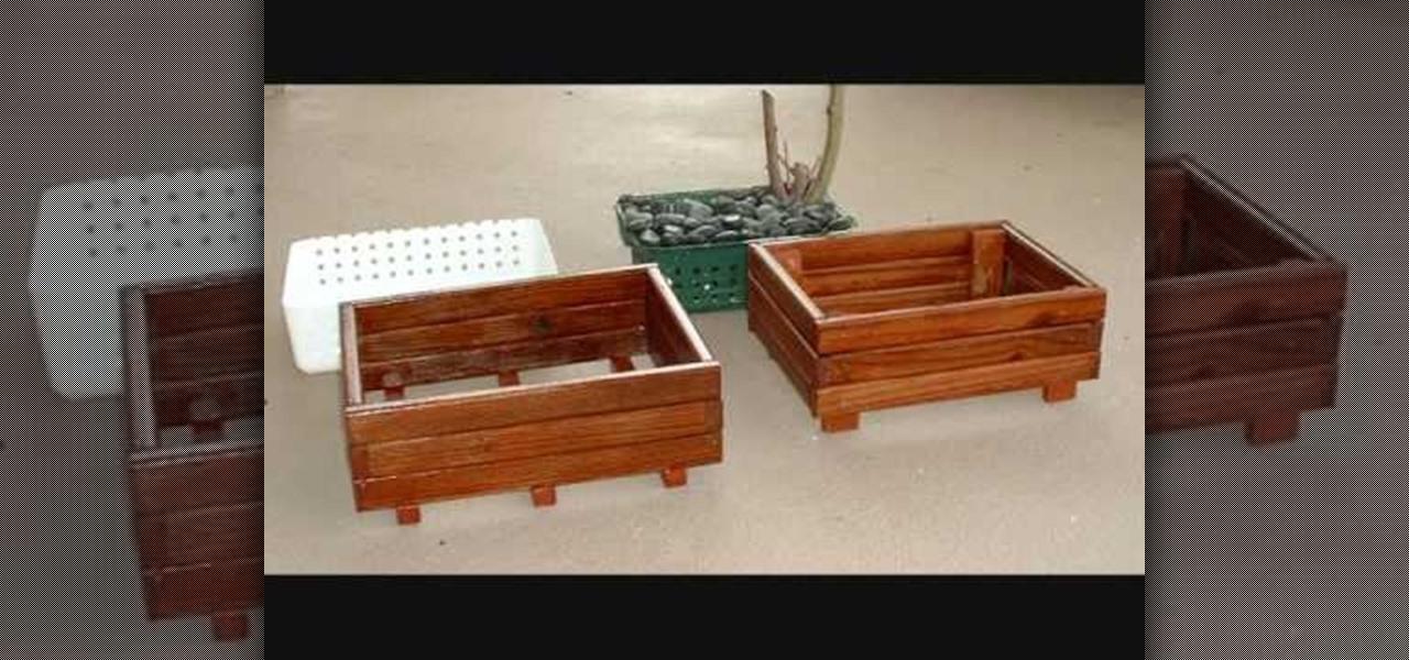 How To Make A Simple Wooden Bonsai Pot Gardening Wonderhowto