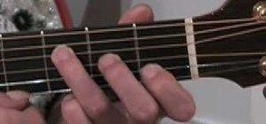 Play the F chord