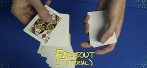 Perform a Fadeout card trick