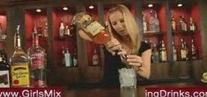 Mix an Adam Bomb cocktail