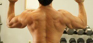 Work out with weights without injuring your lower back