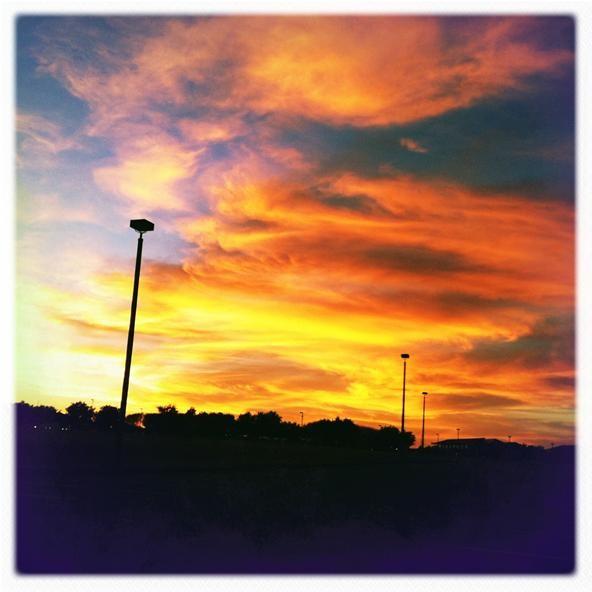 Camera Phone Photo Challenge: Sunset