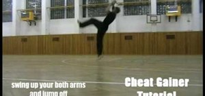 Do a cheat gainer for parkour