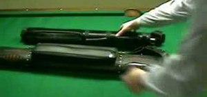 Pick a pool cue and case