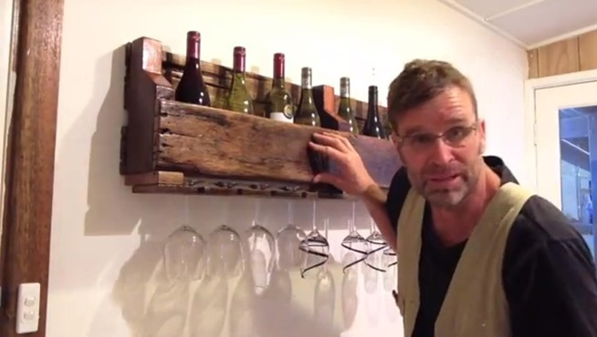 How To Build A Wine Rack Out Of Wood