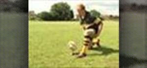 Kick in rugby