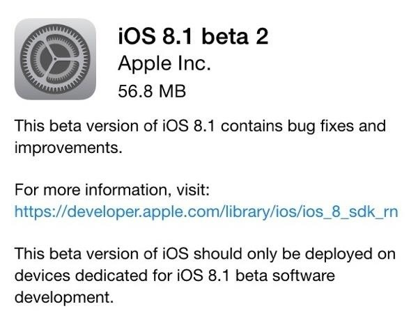 Everything You Need to Know About iOS 8.1 Beta 2 for iPad, iPhone, & iPod Touch