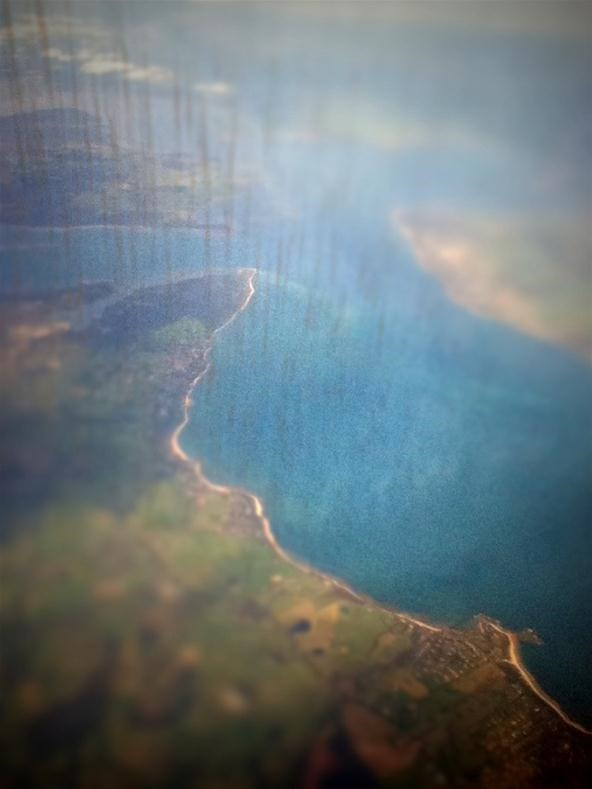 Tiltshift from the Airplane