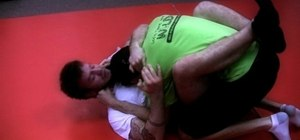 Perform a guillotine choke