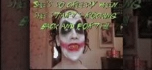 Make Dark Knight Joker makeup