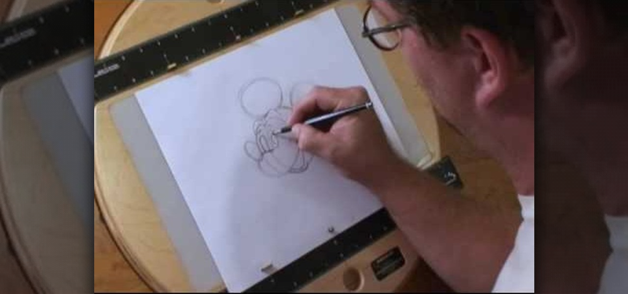 How To Draw Walt Disney Character Mickey Mouse Drawing