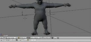 Create fur for 3D models within Blender 2.49 or 2.5