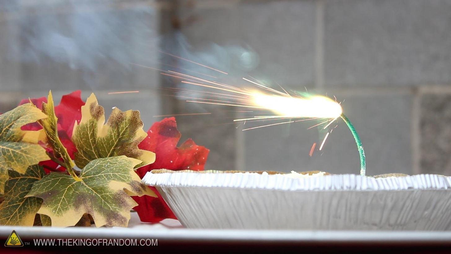 How to Make a Mega Dangerous PIE-Rotechnic Thanksgiving Dessert