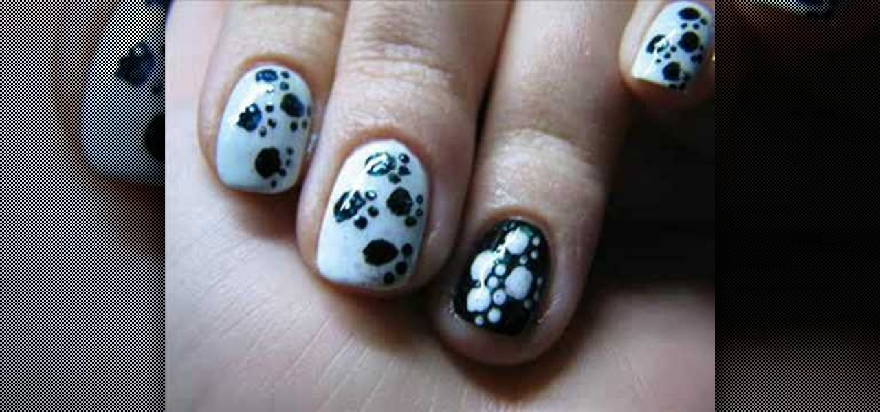 How To Create A Paw Print Manicure Nail Design Nails Manicure