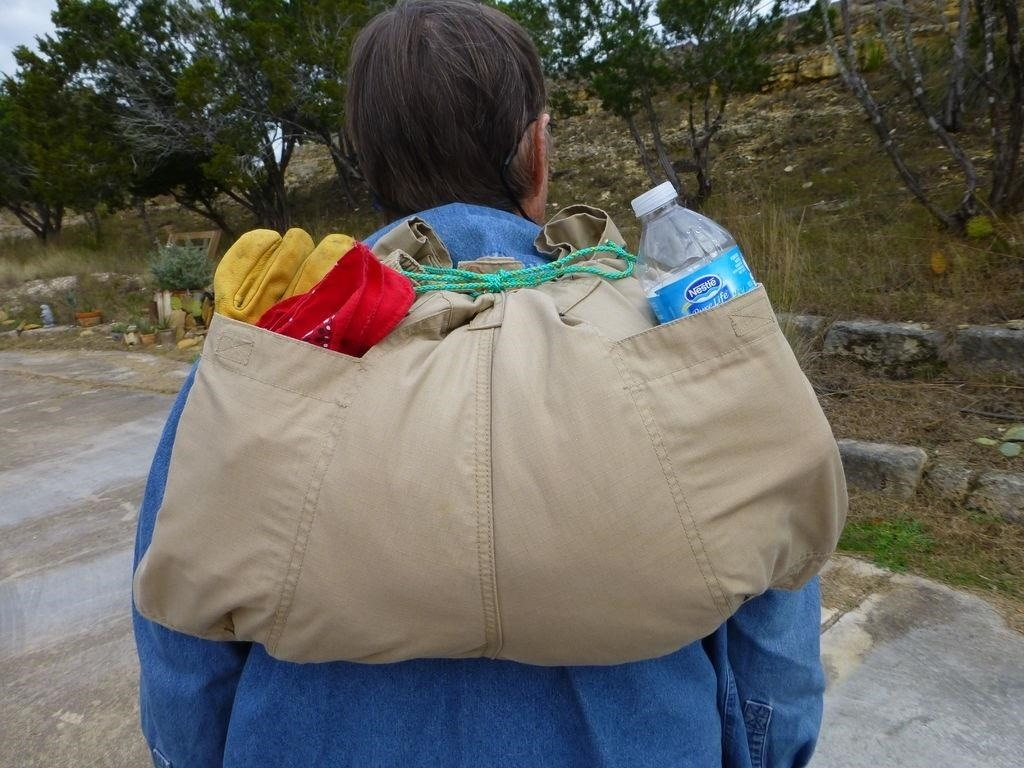 How to Turn a Pair of Pants into a Lightweight Emergency Backpack