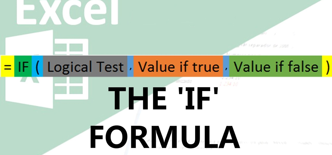 Use the if Function in Excel
