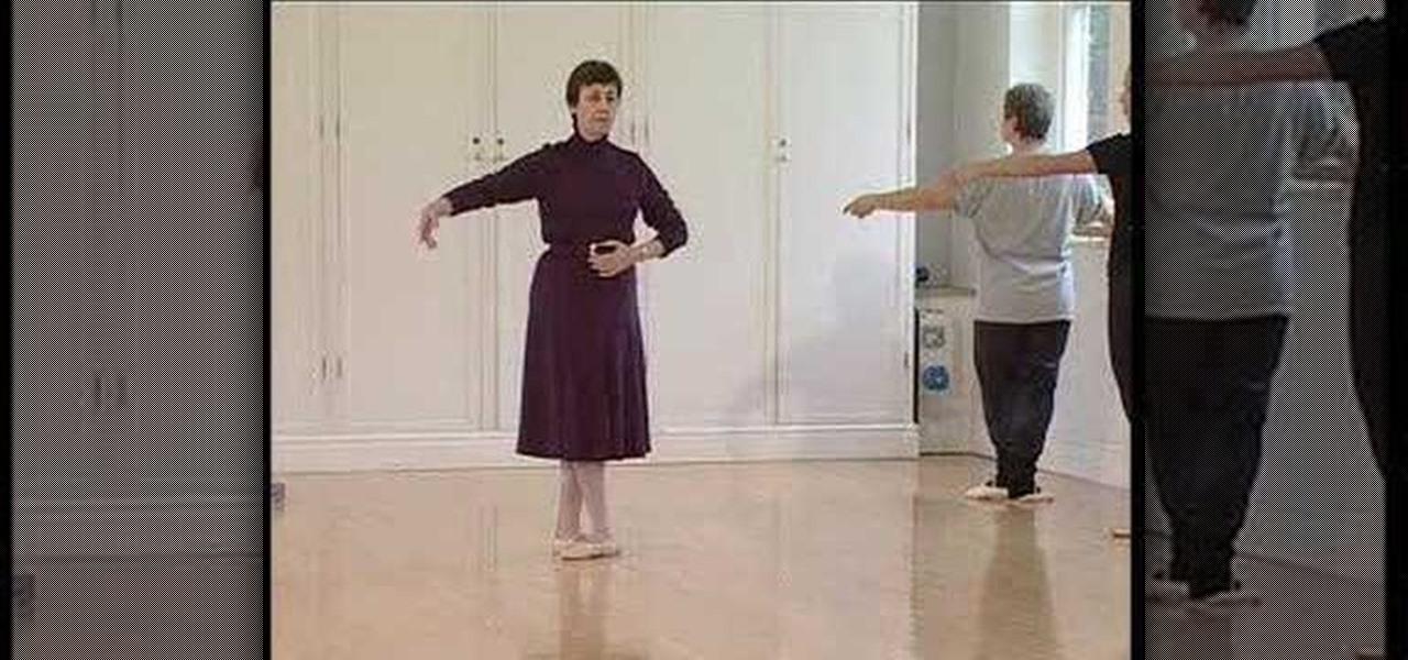 Perform Battement Tendu Ballet X on Basic Country Line Dance Steps