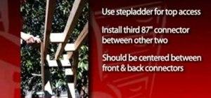 Build a swing arbor