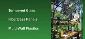 Build a greenhouse to grow flowers or vegetables
