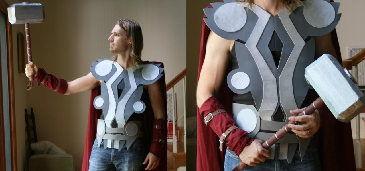 Make a Badass Thor Costume for Halloween on the Cheap