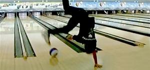Japanese Bowling Acrobatics