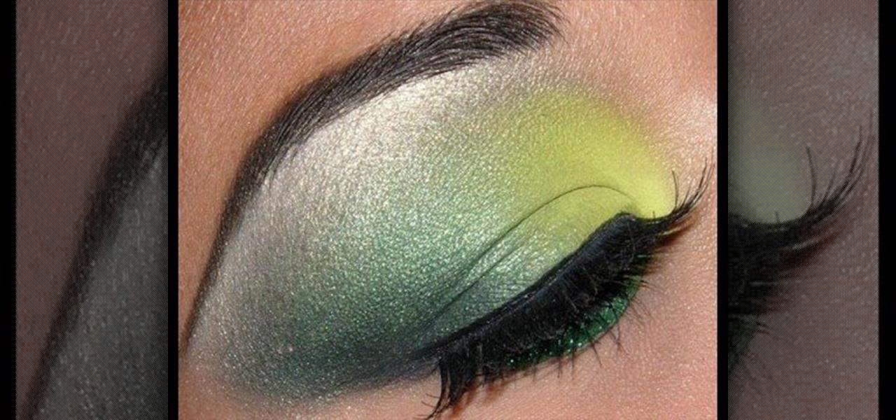 How to Apply a bright and dark green MAC eye makeup look u00ab Makeup