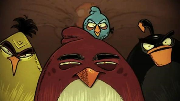 Angry Birds = Animated TV Series