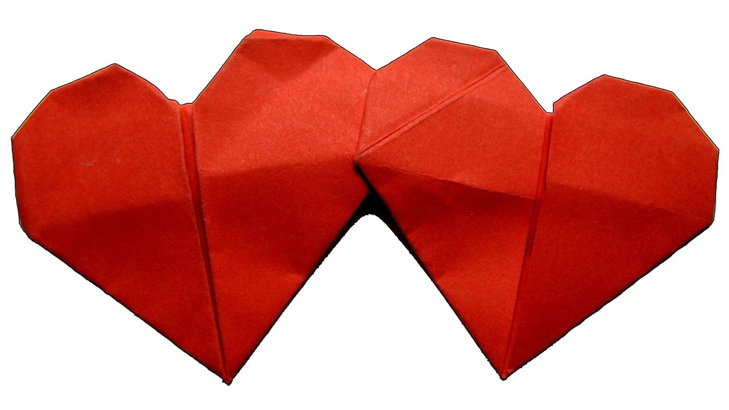 How to Make an Origami Double Heart