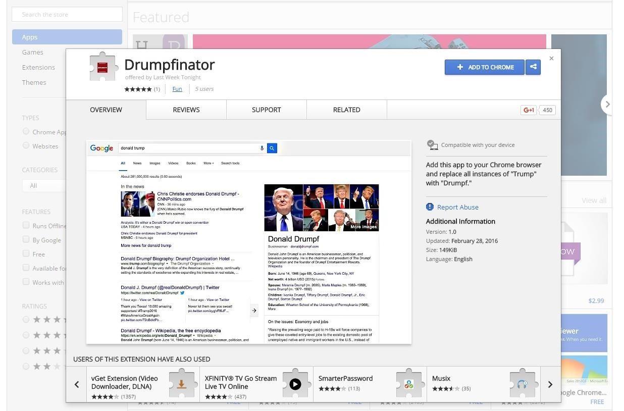 Make Donald Drumpf Again