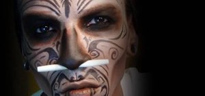 Transform into a witch doctor for Halloween